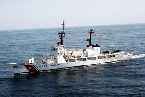 Tàu tuần duyên USCGC John Midgett tháo radar, vũ khí... sẵn sàng về Việt Nam