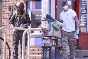 Bật cười vì cách nam diễn viên thủ vai 'Venom' - Tom Hardy đi chợ mùa dịch