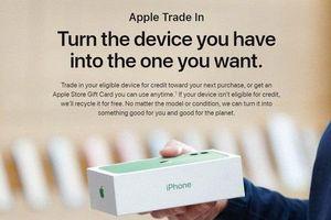 Apple ra mắt chương trình đổi máy cũ lấy iPhone mới, nhưng định giá máy Android rất thấp