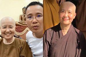 Nghệ nhân ẩm thực Nguyễn Dzoãn Cẩm Vân bất ngờ xuất hiện sau 1 năm xuống tóc đi tu