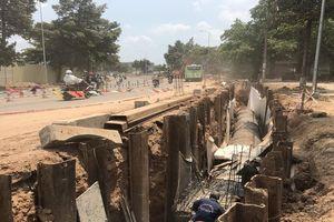 Người dân TP Biên Hòa khốn khổ vì dự án cải tạo vỉa hè làm với tốc độ 'rùa bò'