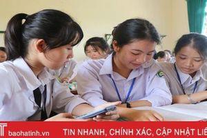 Hoàn thiện 'ngân hàng đề' giúp học sinh Hà Tĩnh thử sức trước kỳ thi THPT