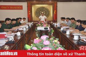 Ban Thường vụ Tỉnh ủy thông qua các nội dung Đại hội đại biểu Đảng bộ Quân sự tỉnh lần thứ XIV