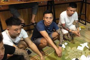 Bắt quả tang nhóm đối tượng đánh bạc tại quán trà sữa