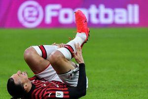 Serie A chưa trở lại, Ibrahimovic đã dính chấn thương