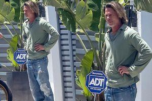 Brad Pitt trông già nua, lôi thôi sau tin đồn hẹn hò nữ phóng viên