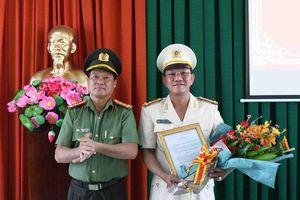 Bộ Công an bổ nhiệm, điều động nhiều nhân sự tại Công an Tiền Giang