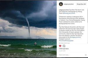 Câu chuyện thú vị về bức ảnh 'Ông già và biển cả' lọt top ảnh đại dương đẹp nhất của National Geographic