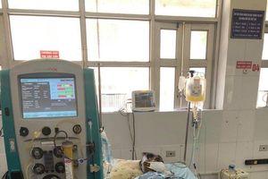 Thay huyết tương cứu bệnh nhân suy thận