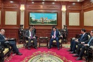 TP. Hồ Chí Minh đẩy mạnh hợp tác với Armenia và Angola trên nhiều lĩnh vực
