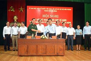 Ký kết kế hoạch phối hợp tổ chức 'Ngày hội Biên phòng toàn dân'
