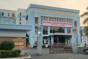 Cách chức Giám đốc Bệnh viện quận Gò Vấp sau vụ mua bán khẩu trang y tế