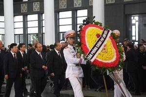 Thủ tướng, Chủ tịch Quốc hội cùng lãnh đạo Đảng, Nhà nước dự lễ tang ông Vũ Mão