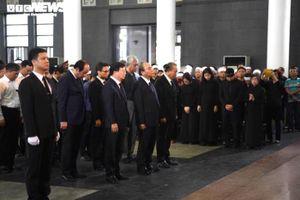 Lãnh đạo Đảng, Nhà nước viếng nguyên Chủ nhiệm Văn phòng Quốc hội Vũ Mão