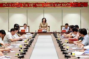 Phó Bí thư Thường trực Thành ủy Ngô Thị Thanh Hằng: Chủ động chuẩn bị, bảo đảm tiến độ, thành công Đại hội Đảng các cấp