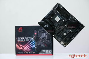 Trên tay bo mạch chủ ROG Strix B550-E Gaming, đẹp và đủ đồ chơi