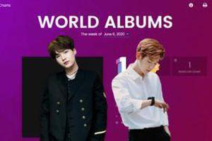 BXH Billboard World Albums tuần này: Baekhyun - Suga cùng debut trong top 5 nhưng người đạt quán quân là…