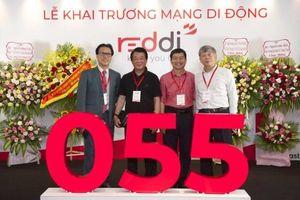 Việt Nam có mạng di động thứ 7 với tên gọi Reddi, đầu số 055