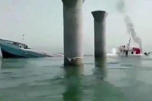Tàu hàng Iran chìm bí ẩn ngoài khơi Iraq