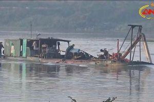 Thanh Hóa: Chấn chỉnh hoạt động khai thác cát trái phép trên sông Chu