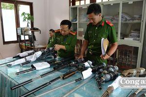 Đẩy mạnh thu hồi vũ khí để phòng ngừa tội phạm