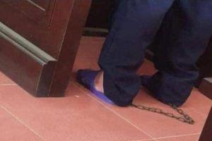 Vì sao tài xế container Lê Ngọc Hoàng bị xích chân tại tòa phúc thẩm?