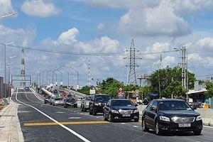 Thông xe cầu Tân An trên quốc lộ 1A và 5 cầu trên quốc lộ N1