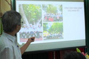 Cấp Bằng công nhận 4 cây di sản Việt Nam ở Trường Sa