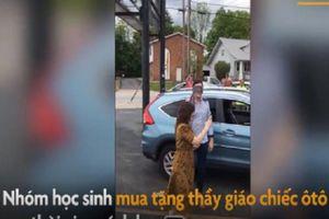 Bất ngờ học sinh tặng thầy giáo ôtô Civic 17 ngàn đôla