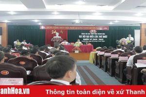 Đại hội Đảng bộ Cục Thuế tỉnh Thanh Hóa