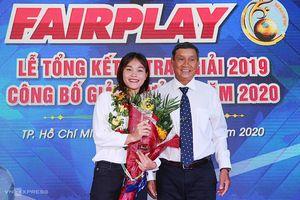 Tuyển thủ Chương Thị Kiều thắng Giải Fair-play 2019