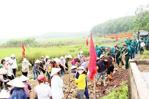 Ban CHQS huyện Đầm Hà: Chung sức xây dựng nông thôn mới
