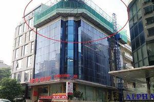 Nam Từ Liêm (Hà Nội): Nhiều công trình vi phạm trật tự xây dựng tại phường Cầu Diễn