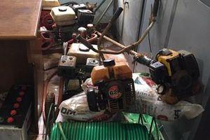 Liên tiếp triệt phá nhiều nhóm trộm cắp tài sản, tàng trữ trái phép chất ma túy