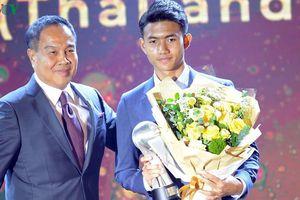 'Thần đồng' bóng đá Thái Lan đặt mục tiêu khủng trong tương lai