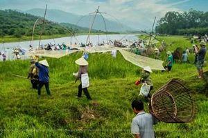 Lễ hội đánh cá có truyền thống gần 300 năm chuẩn bị khai hội tại Hà Tĩnh.