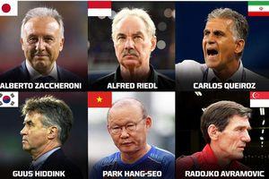 Thầy Park vào top những HLV xuất sắc nhất châu Á