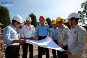 Bàn giao mặt bằng sạch cho dự án NCMR NMLD Dung Quất