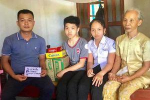 Thầy giáo trẻ với tấm lòng thiện nguyện