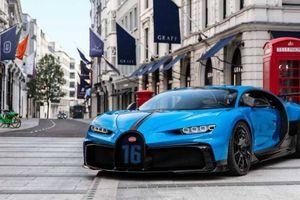 Cận cảnh Bugatti Chiron Pur Sport chỉ sản xuất 60 chiếc trên toàn thế giới