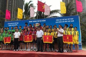 Quảng Ninh giành 2 HCĐ tại Giải vô địch cầu mây bãi biển toàn quốc 2020
