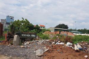 Nam Từ Liêm, Hà Nội: Bãi tập kết vật liệu xây dựng không phép hoạt động rầm rộ tại phường Tây Mỗ