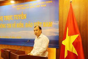 Tập huấn, cung cấp thông tin về biển, đảo Việt Nam cho cán bộ Mặt trận Tổ quốc