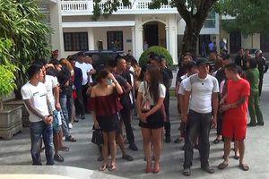 Thanh Hóa: 54 nam thanh nữ tú dùng ma túy trong tiệc sinh nhật