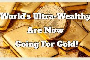 Nhà giàu đổ tiền mua vàng tích trữ an toàn