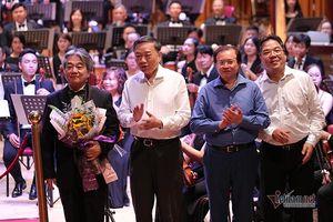 Đại tướng, Bộ trưởng Tô Lâm nghe hòa nhạc 'Chúng tôi đã quay lại'