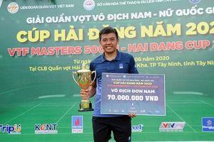 Lý Hoàng Nam vô địch Giải quần vợt nam - nữ quốc gia 2020