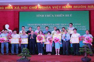 Văn phòng báo PLVN khu vực Bình Trị Thiên được Chủ tịch UBND tỉnh Thừa Thiên Huế tặng bằng khen