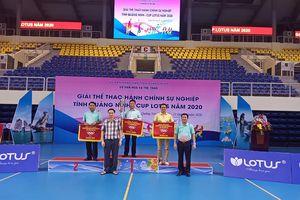 Hạ Long nhất toàn đoàn Giải thể thao hành chính sự nghiệp Quảng Ninh
