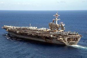 Nhóm tác chiến tàu sân bay Mỹ đang hoạt động ở cửa ngõ Biển Đông